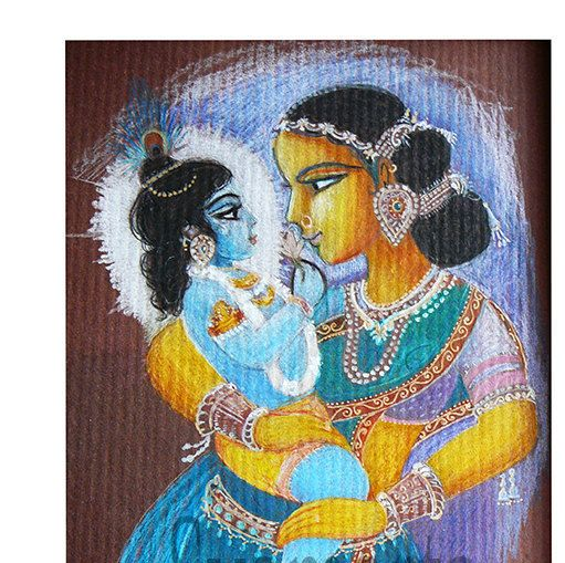 yasoda krishna original pencil drawing mother and child baby shower prints available devotional art relationship by syamarts on etsy