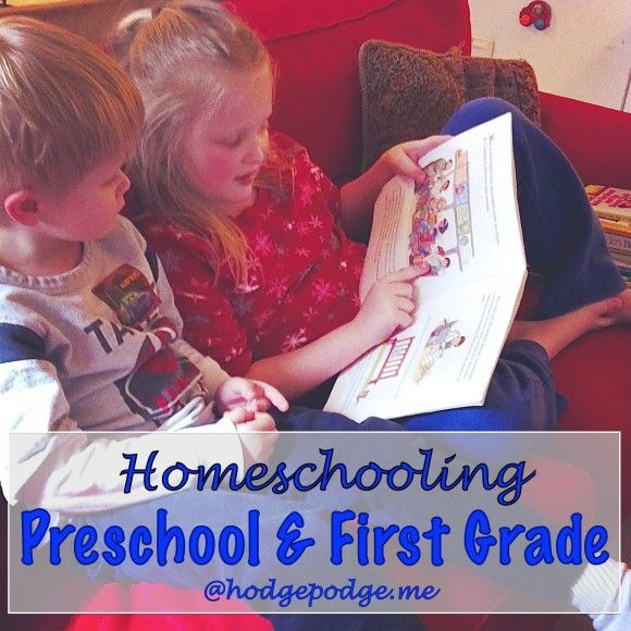 Preschool and First Grade at Hodgepodge