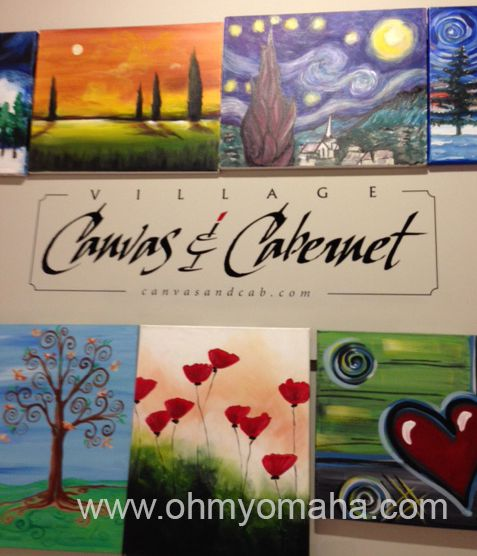 Latest Village Canvas and Cabernet A paint and sip studio at Aksarben Village in Omaha Luxury - Inspirational Sip and Paint Locations Ideas