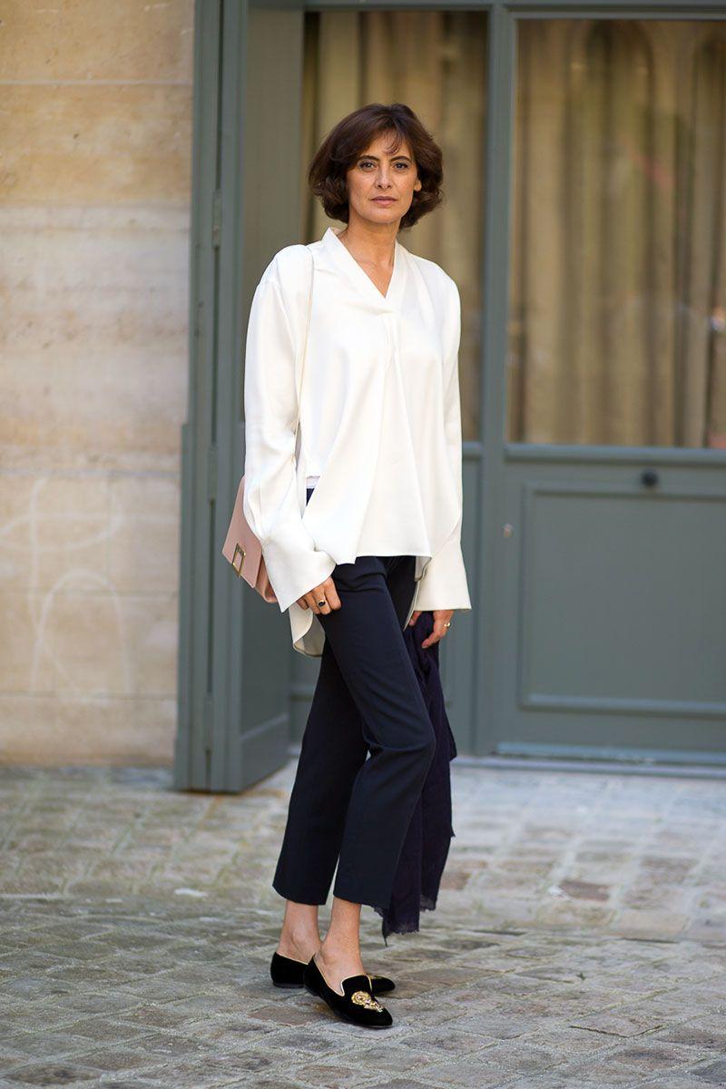 Inès de La Fressange  // Couture, Fall 2014; Paris