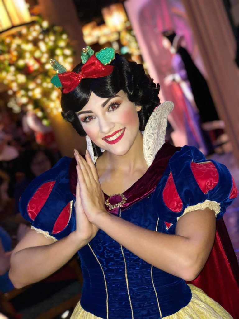 Storybook Dining New Snow White Character Meal at Disney