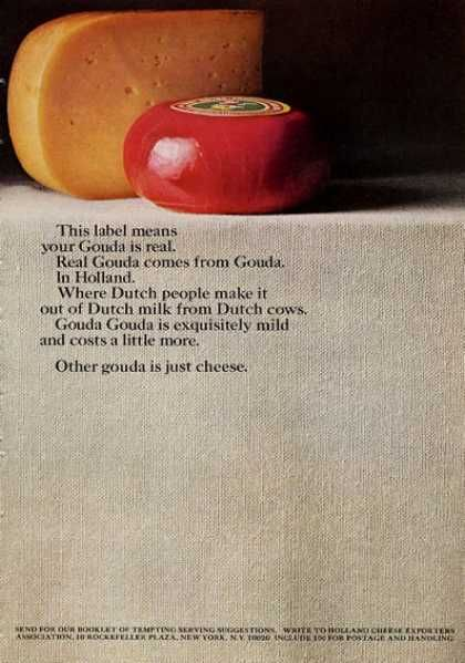 vintage food advertisements of the page