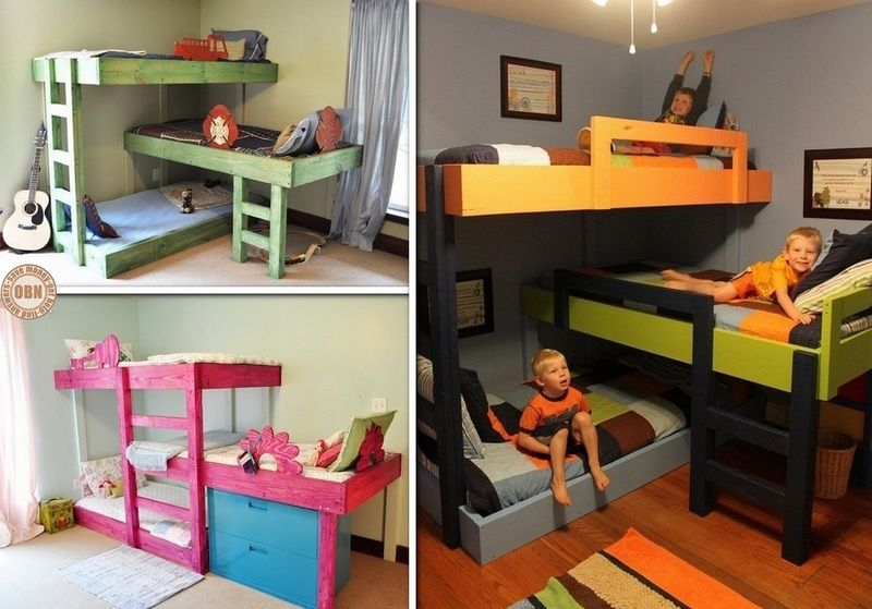 Awesome Loft Bed for Two Kids