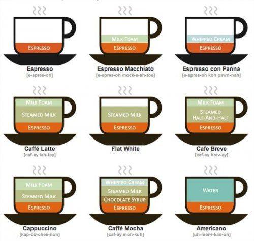 Perbedaan Espresso Latte Moka Cappucino Kopi Resep Kopi Pecinta Kopi