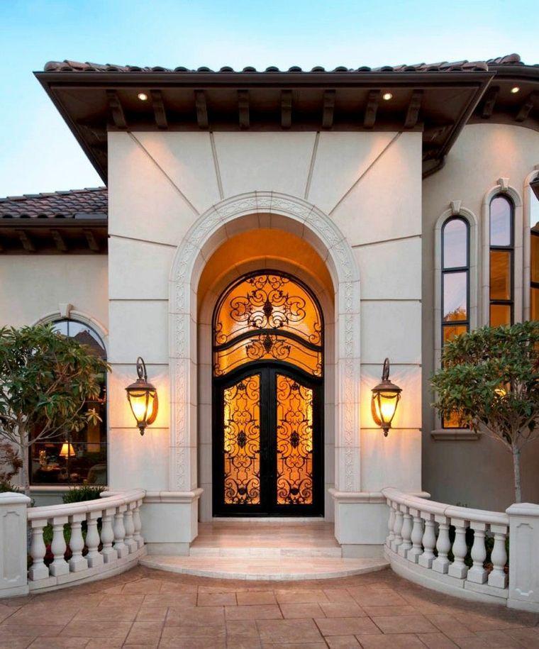 Puertas de entrada sus tipos y caracter scitas para pisos - Puertas de metal para casas ...