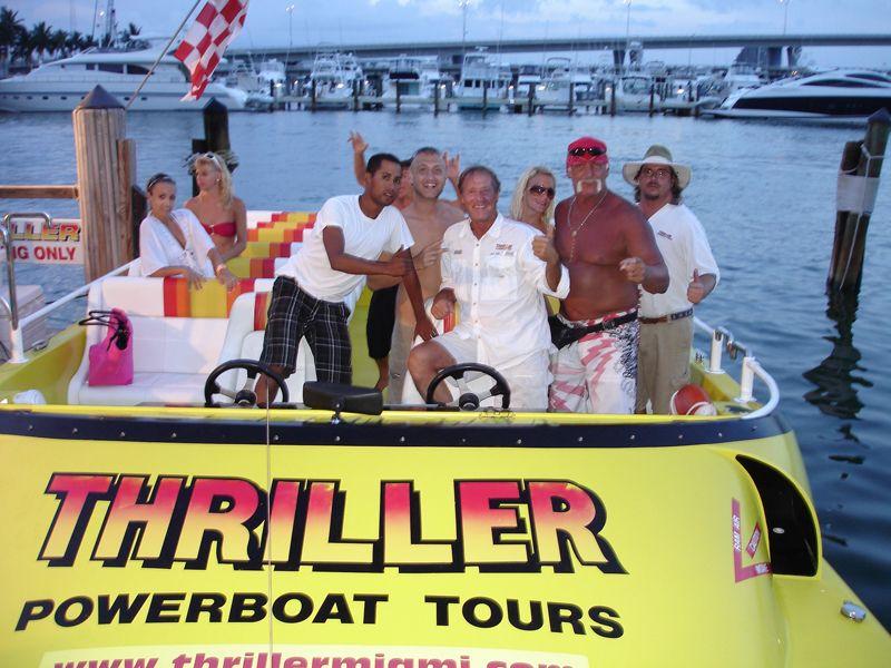Miami speedboat tour south beach tour south florida