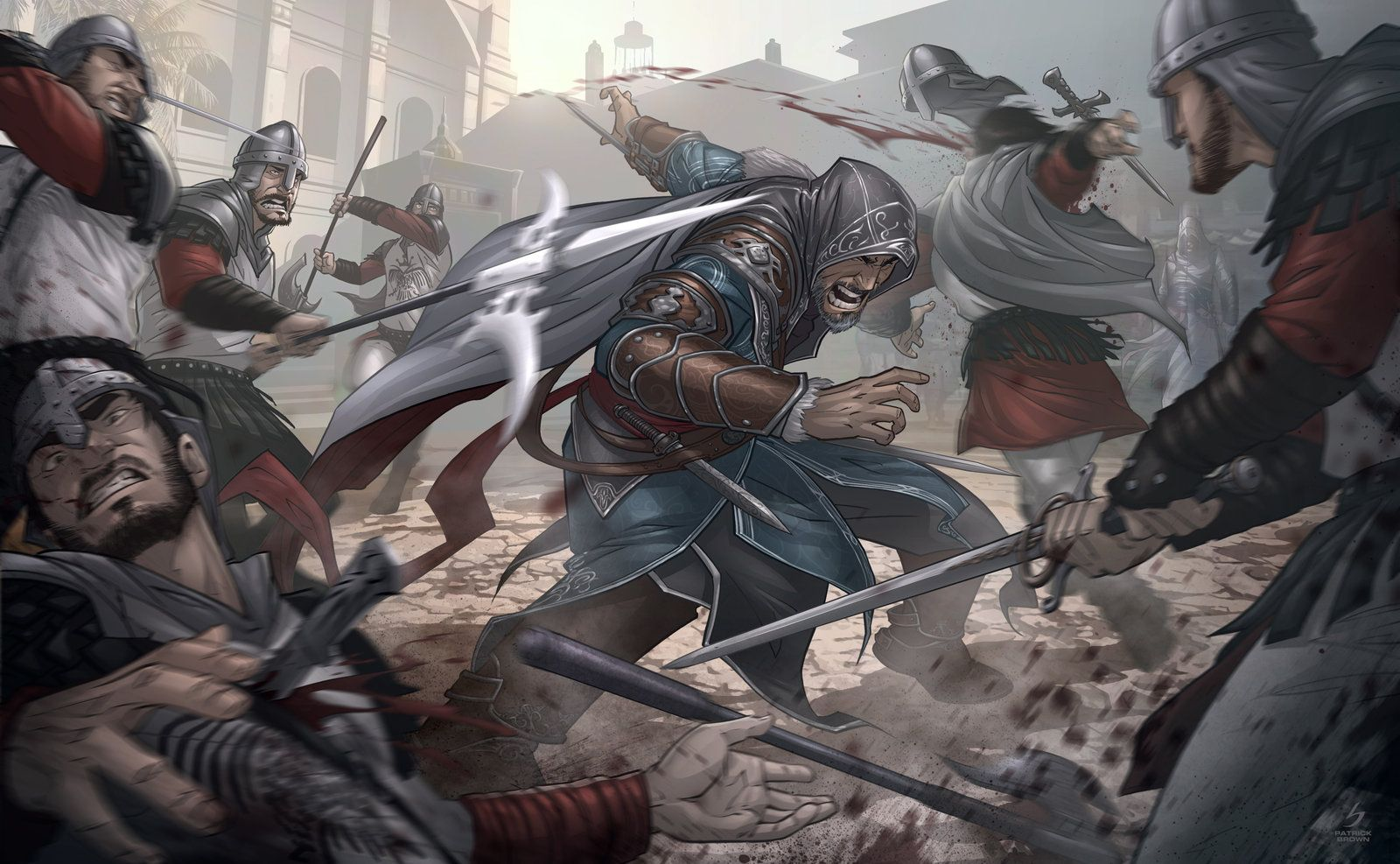 Assassins Creed Revelations By Patrick Brown Amazing Work As You