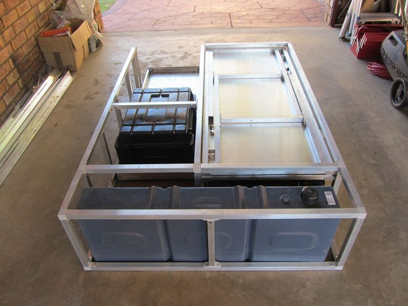 Diy Hilux D C Drawer System Truck Bed Drawers Truck Bed Organization Truck Bed