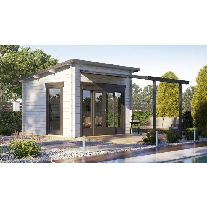 Gartenhaus Modell Freestyle 50-A Garten Pinterest - garten lounge mobel holz