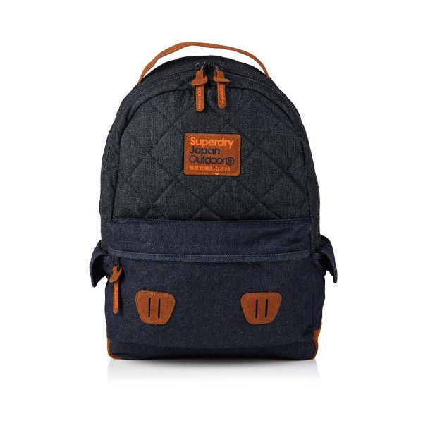 Superdry Super Quilted Raw Montana Rucksack (235 BRL) ❤ liked on ... : superdry quilted rucksack - Adamdwight.com