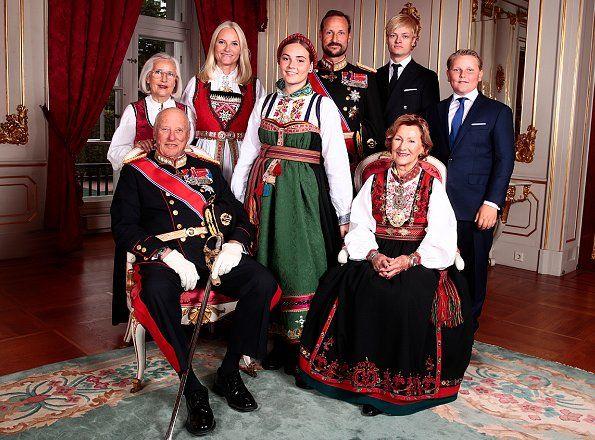 Princess Ingrid Alexandra Was Confirmed In The Royal Chapel