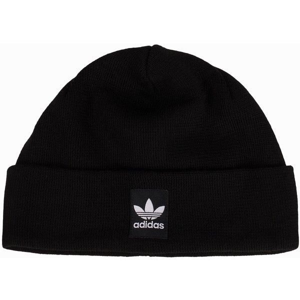 Adidas Originals Rib Logo Beanie (37 AUD) ❤ liked on Polyvore featuring  accessories 143181e82d5