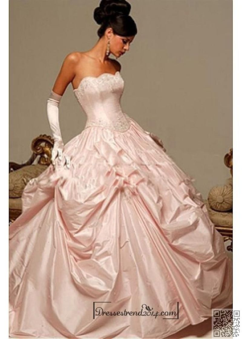 getting married pink ball gowns for your next gala