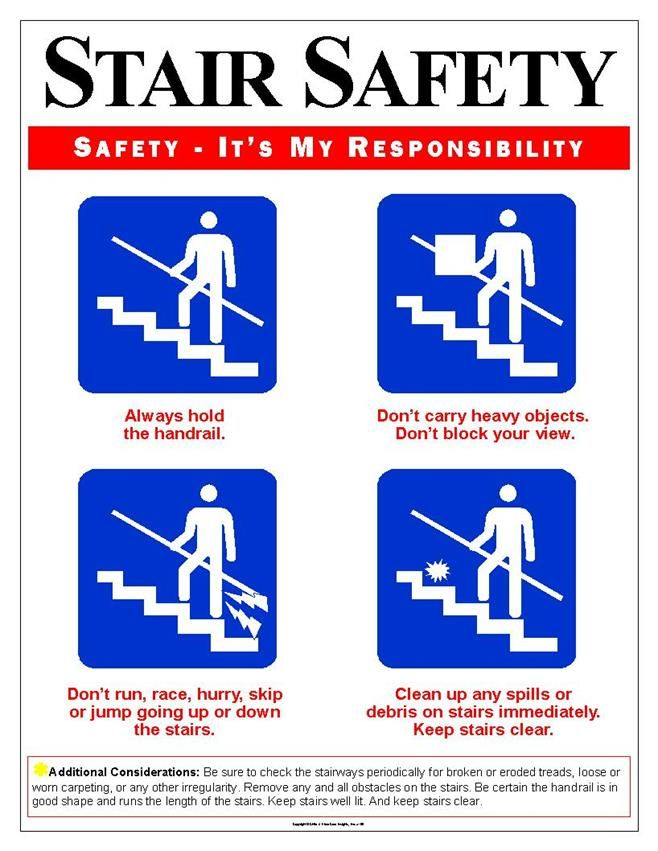 eaposters.com: Stair Safety Posters | Stair Safety Posters ...