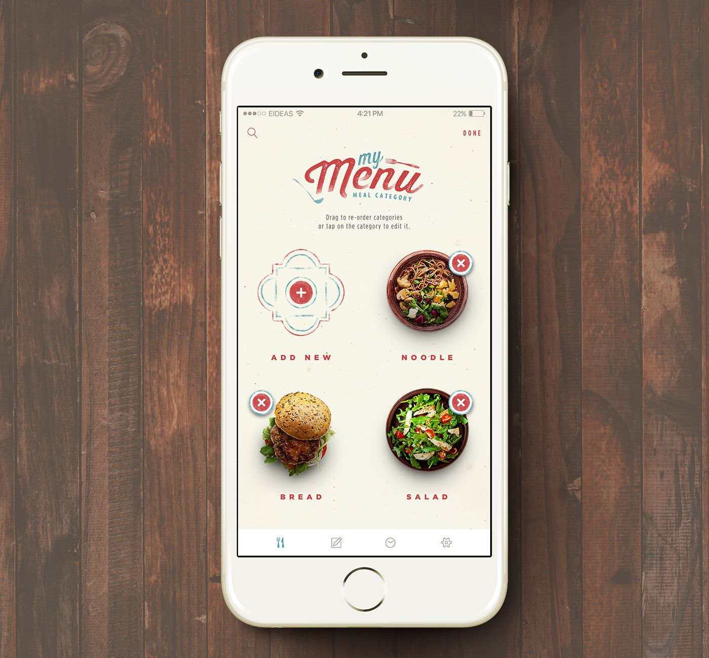 Home Design Ideas App: Happy Kitchen Food Delivery App On Behance