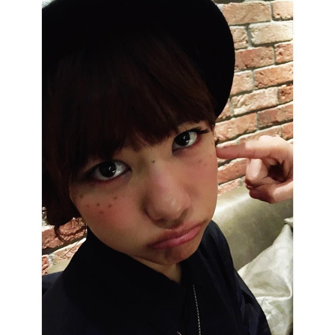 佐江ちゃんのそばかすメイク  あお鼻の真ん中はそばかすじゃないよ  #宮澤佐江 #miyazawasae #freckles #make by yuk00shima