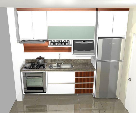 Cocinas Pequeñas - Ver Más de 130 Modelos Increíbles y Se Inspire ...