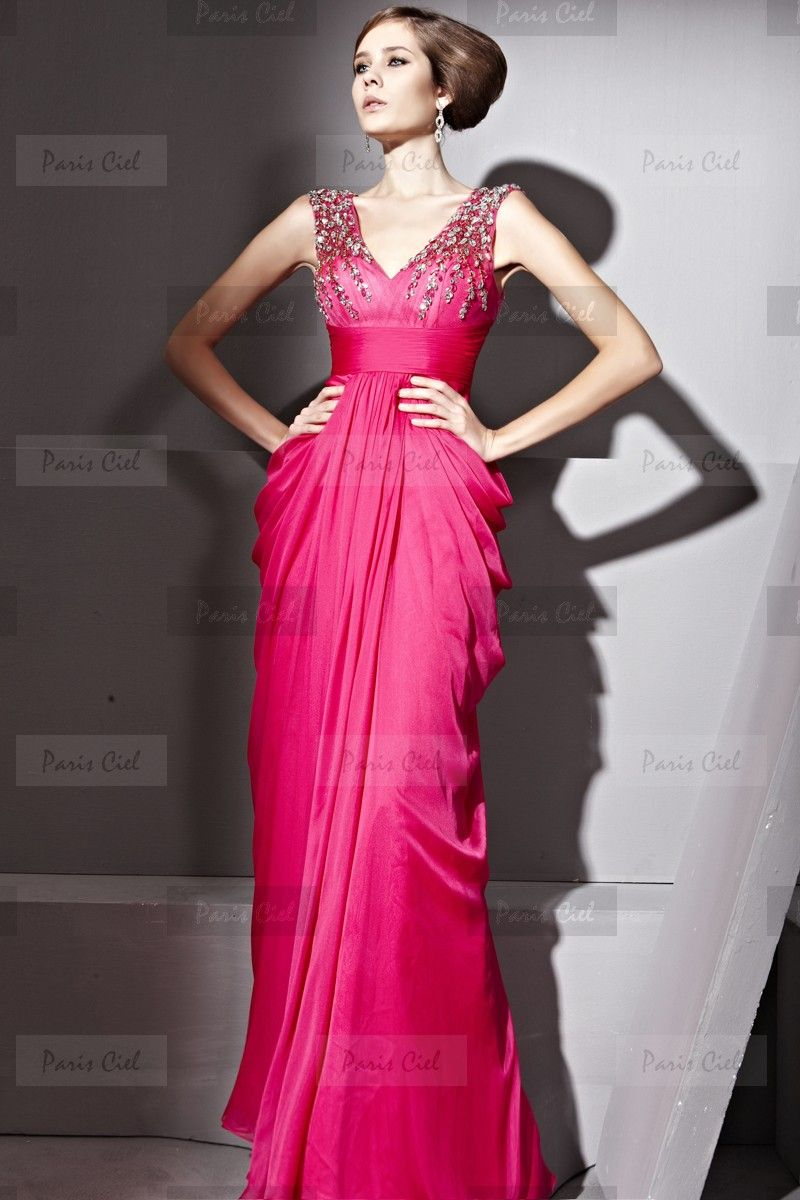 vestidos de fiesta fucsia largos - Buscar con Google | vestidos ...