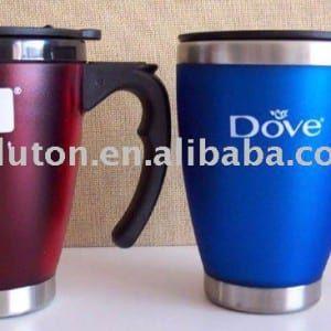 Inspirational Double Wall Coffee Mugs