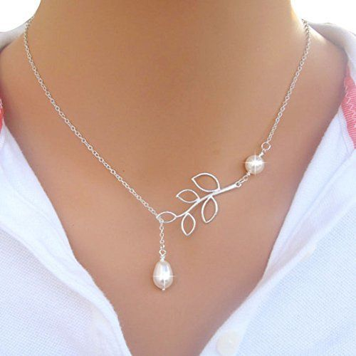 Binmer(TM)Fashion Women Necklaces Sexy Charm Leaves Sweater Chain Pearl Pendant Neck Necklaces Jewelry for Girl  http://tinyurl.com/oce8hpl