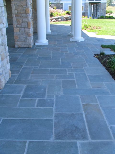 Blue Flagstone | Jardín Bonito | Pinterest | Bluestone Patio, Flagstone And  Patios