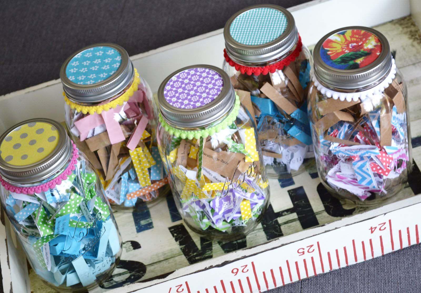 Decorate A Jar Mason Jars Decorated  Crafty  Pinterest  Mason Jar Decorating