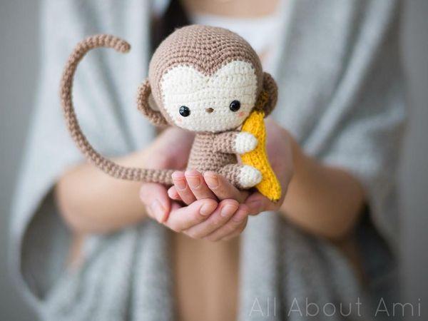 Chinese New Year Monkey | Häkeln und Handarbeiten