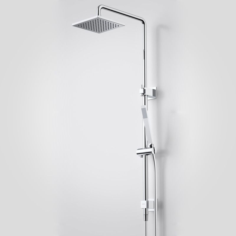 Track Rail Shower with Overhead. http://www.caroma.com.au/bathrooms ...