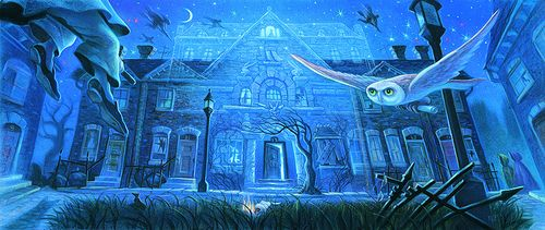 Number 12 Grimmauld Place By Mary Grandpre Harry Potter Illustrations Harry Potter Book Covers Harry Potter
