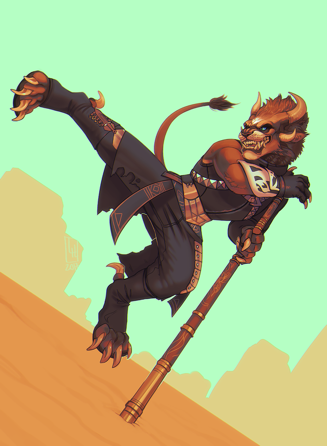 Card: Fox Lancer | Fantasy character design, Furry art