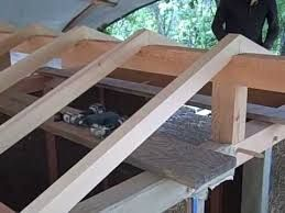 Resultado de imagen para como hacer cerchas para techos - Como hacer cobertizo de madera ...