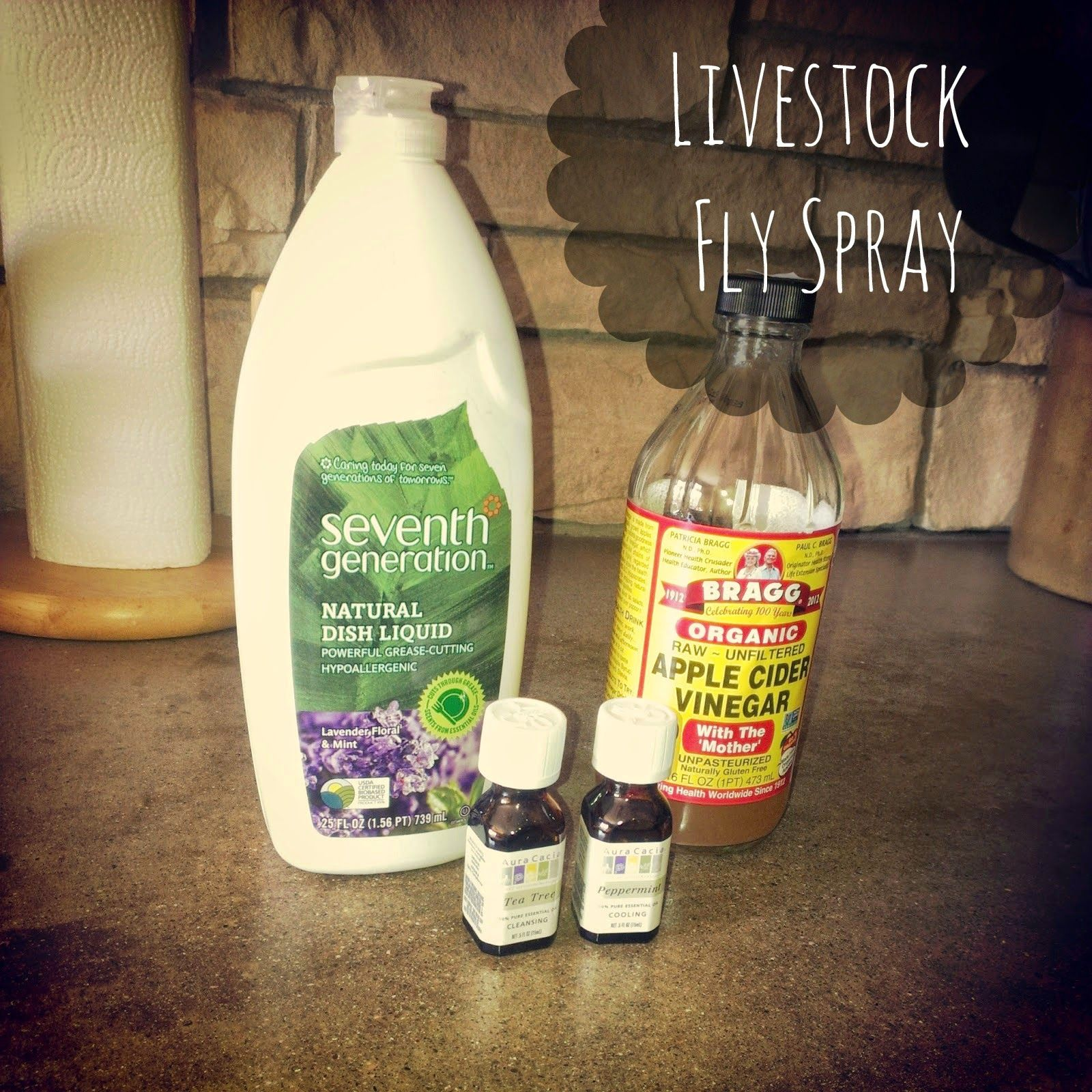 How To Make All Natural Horse Fly Spray