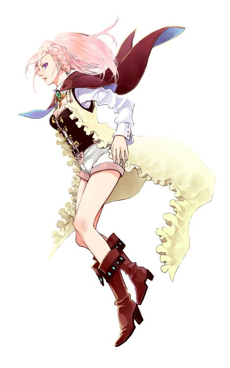 Shingeki no Bahamut Amira Female anime, Anime
