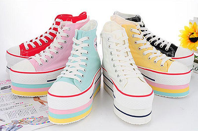 Platform sneakers, Platform shoes