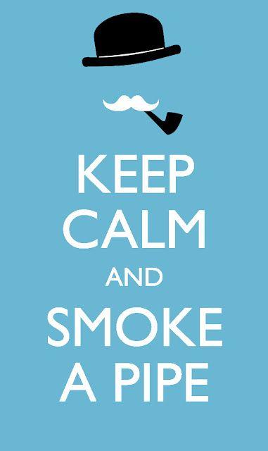 smoke a pipe