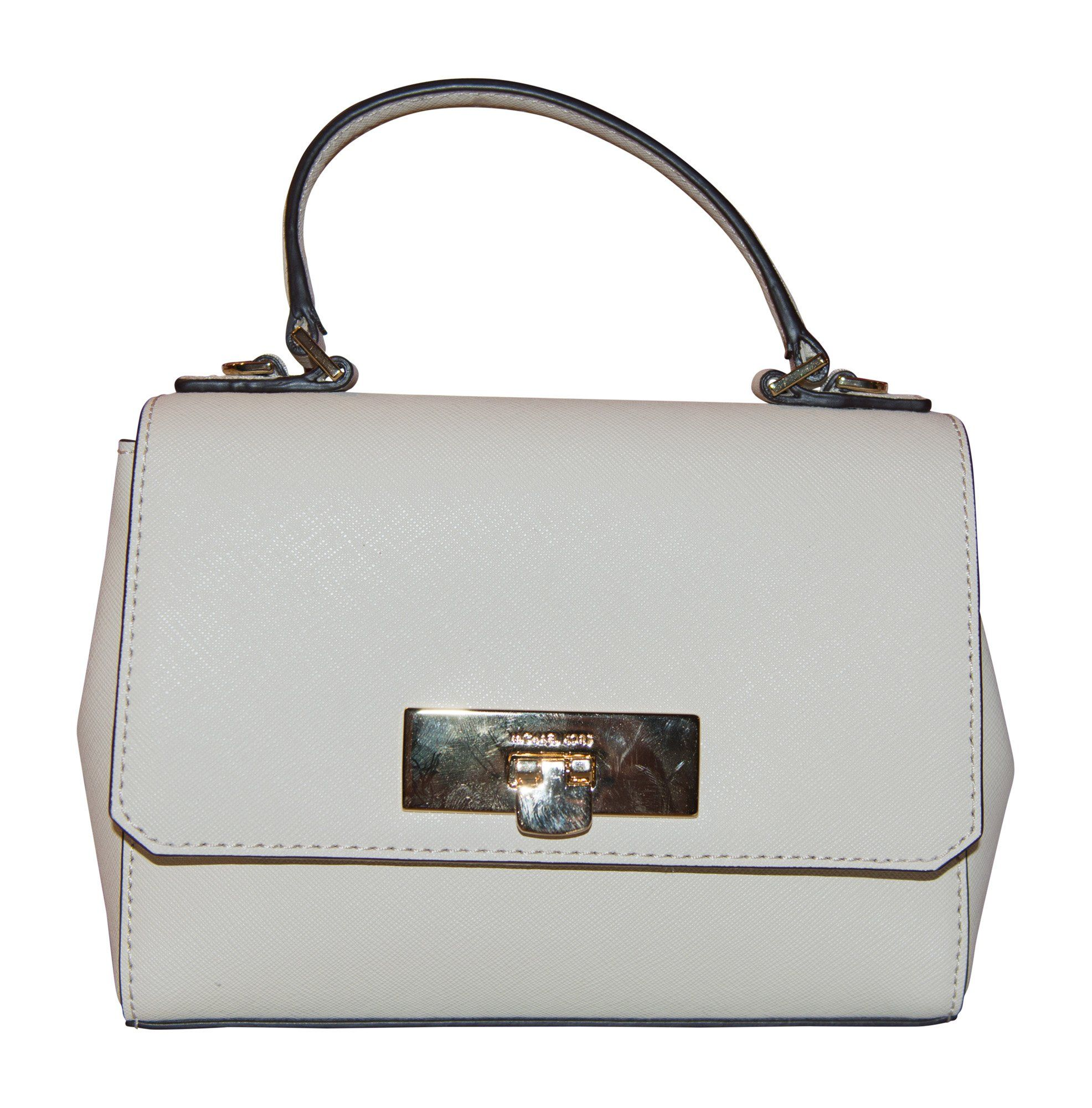 3cc144f8c74db1 Michael Kors Callie XSmall Leather Crossbody Handbag Ecru -- Find out more  about the great