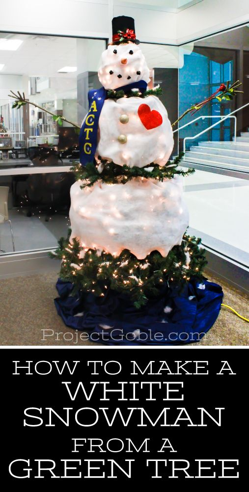 how to create a snowman