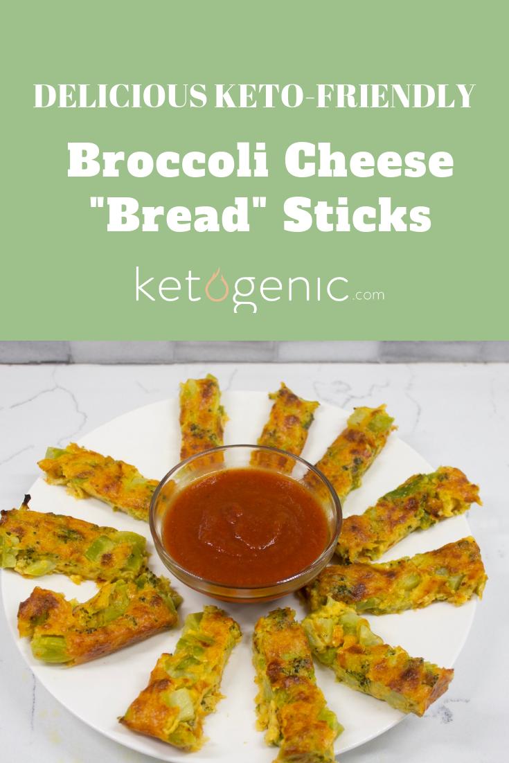 Keto Broccoli Cheese Stick Bread Ketogenic Com Recipe Broccoli And Cheese Cheese Bread Sticks Recipes