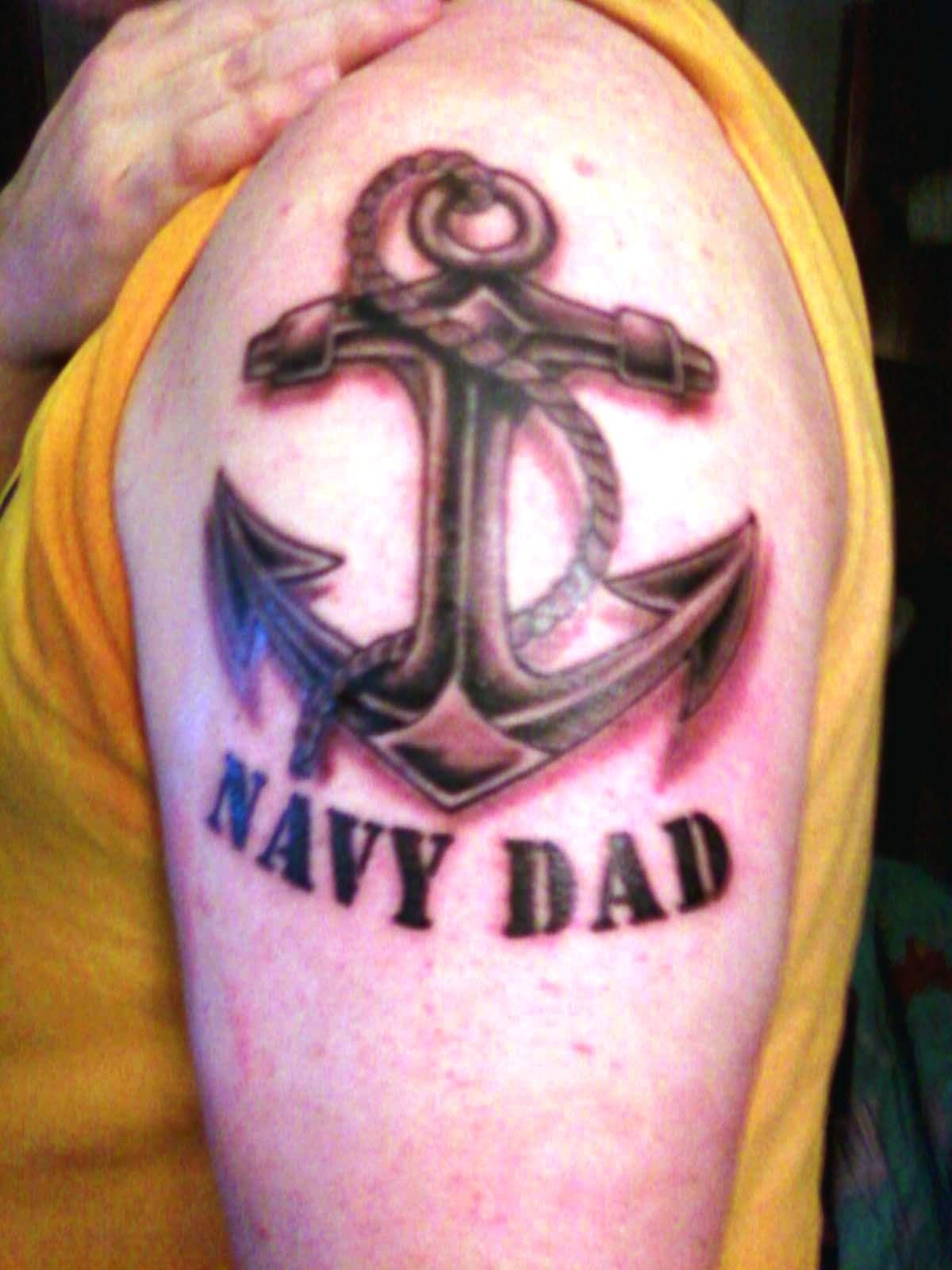 Navy Dad Dad Pinterest Navy Tattoos Meaning Tattoos And