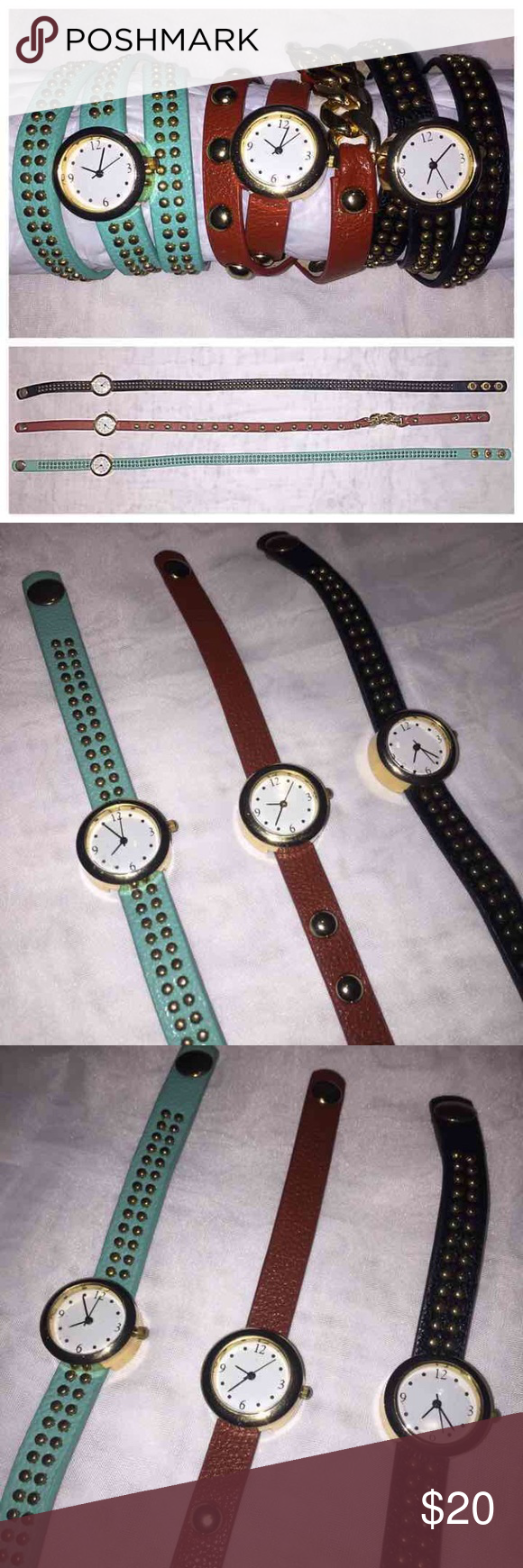 Listing Is For EACH Wrap Watch