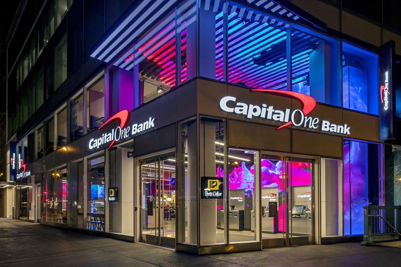 Shop! Design Awards Capital one, Capital first bank