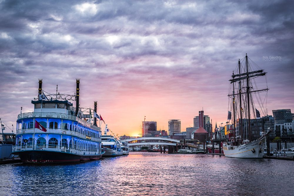 Hamburger Hafen, Hamburg, Germany
