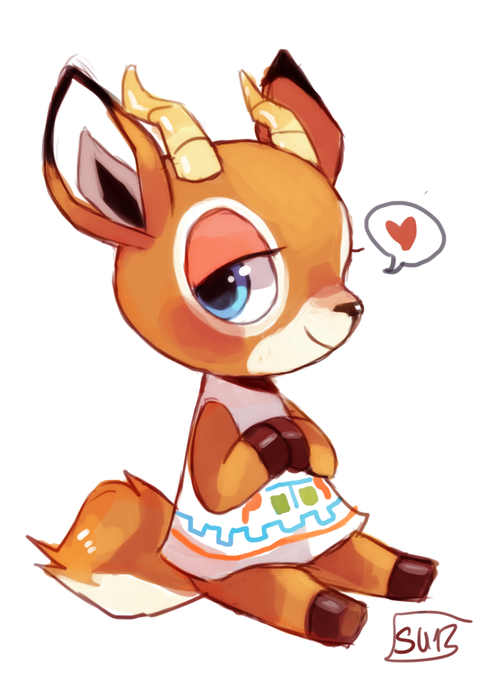 Beau from Animal Crossing   Personnages animal crossing ...