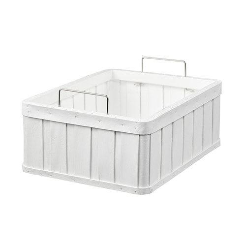IKEA - BRANKIS Basket white images