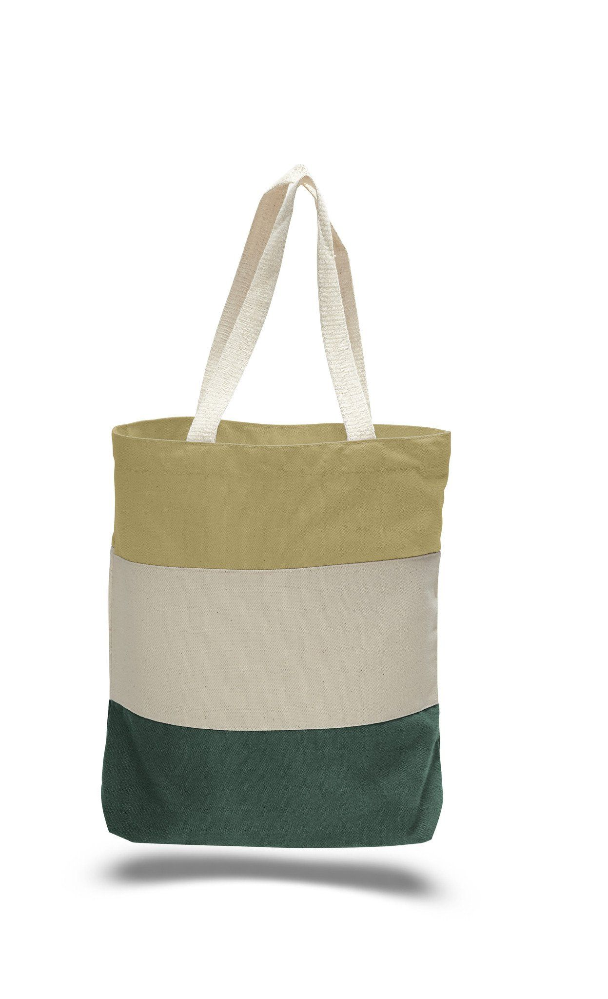 b74f1b9a5ef5 Heavy Canvas Tri-Color Fancy Canvas Tote Bags - TG259 Cheap Totes