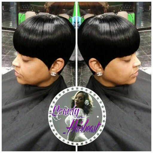 Quick weave with bangs quickweaves pinterest quick weave quick weave with bangs pmusecretfo Images