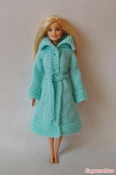 фото схема вязания пальто для барби спицами многие