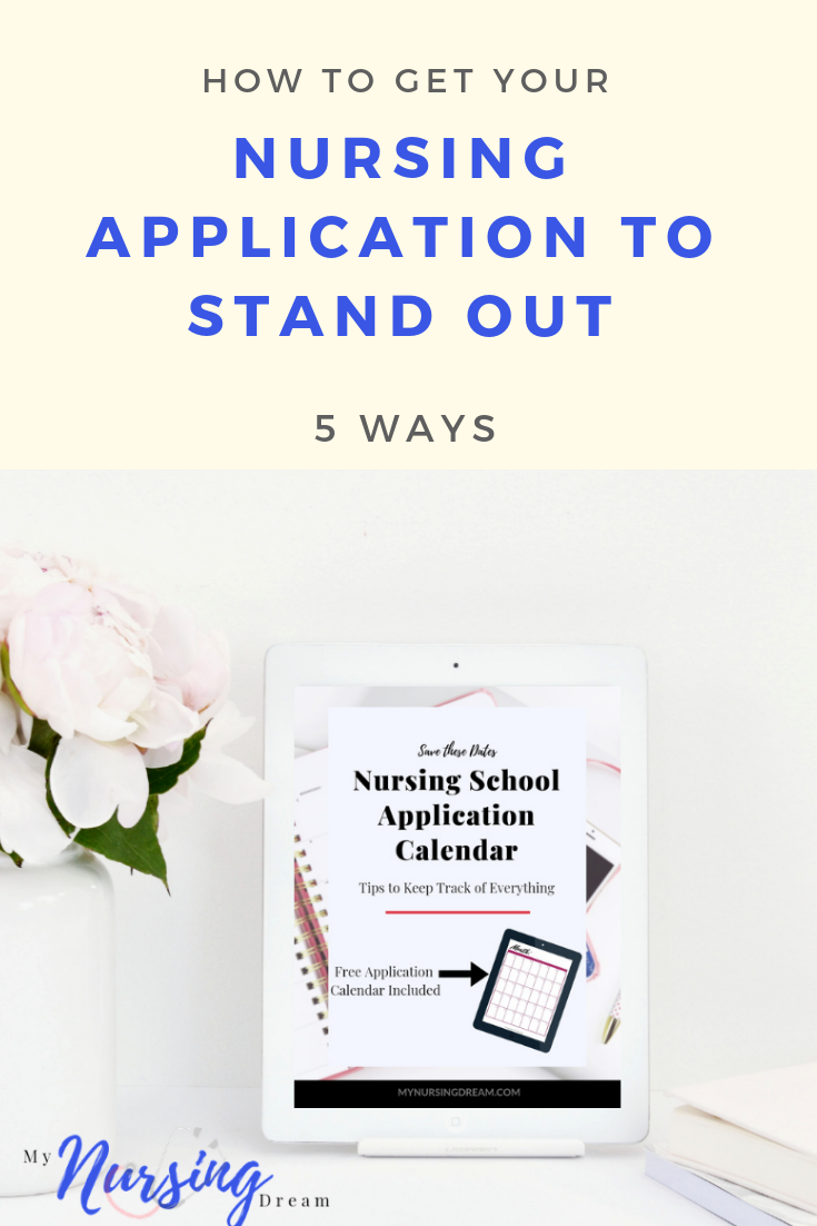 How to write a stand out admission essay for nursing
