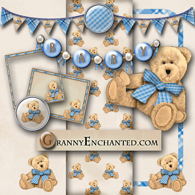 Free Teddy Bear Digi Scrapbook Kit ⊱✿-✿⊰ Join 5,300 others. Follow the Free Digital Scrapbook board for daily freebies. Visit GrannyEnchanted.Com for thousands of digital scrapbook freebies. ⊱✿-✿⊰