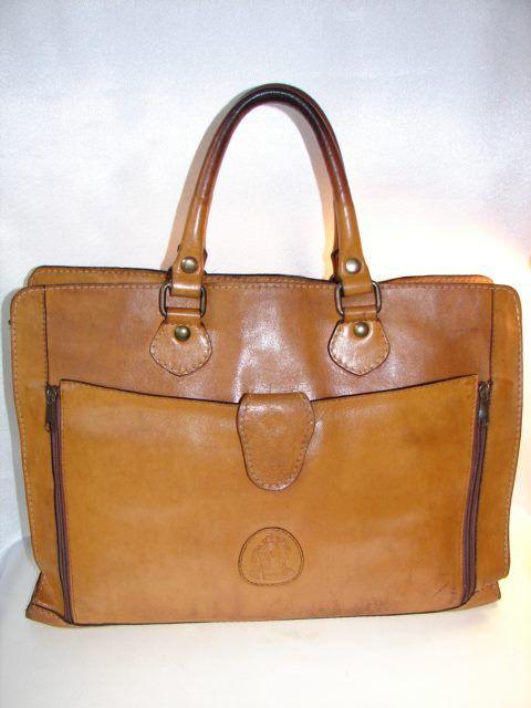 Annapelle Vintage Leather Laptop Bag